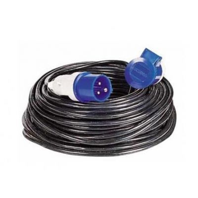 Cable 230v 25m 3x2,5mm CEE
